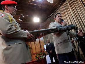 Venezuelan President Hugo Chavez, shown this month, said  a Colombia-U.S. deal is a declaration of war.
