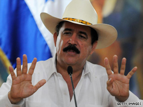 Ousted Honduras leader Jose Manuel Zelaya may be allowed to return to his country under certain conditions.