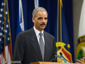 Attorney General Eric Holder, shown earlier this week, has formed a detainee review task force.