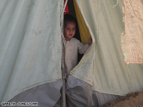 A Pakistani army spokesman says the military offensive has caused many to leave their homes for camps.