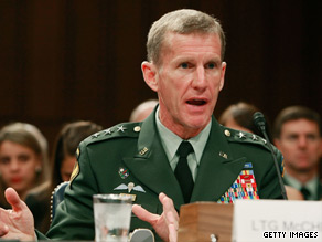 Gen. Stanley McChrystal will issue a directive on airstrikes by the end of the week.