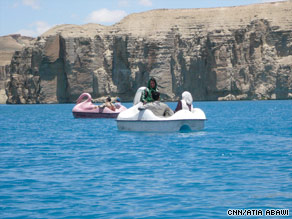 Efforts to make Band-e-Amir a national park began in the 1970s but were held up by decades of war.