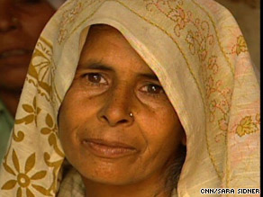 Pista Devi is struggling to feed herself and five children in a region with a rain deficit 85 percent below normal.
