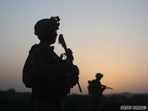 U.S. Marines participate in operation Saturday to push Taliban out of Herati, Afghanistan.