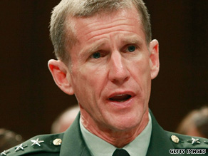 Gen. Stanley McChrystal says the American death toll in Afghanistan will remain high for some time.