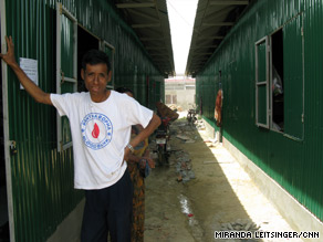 Many Cambodian AIDS patients and their families have been relocated to this community outside Tuol Sambo.