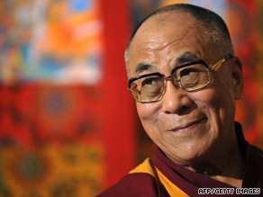 The Dalai Lama's spokesman has denied there is any political subtext to his visit to Taiwan.