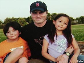 A Tennessee court awarded Christopher Savoie custody of his son, Isaac, and daughter, Rebecca.