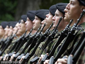 Switzerland's part-time soldiers could lose the right to store their weapons at home.