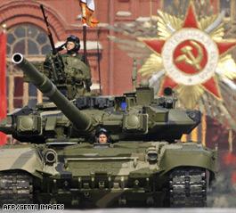 Russia announces major military buildup