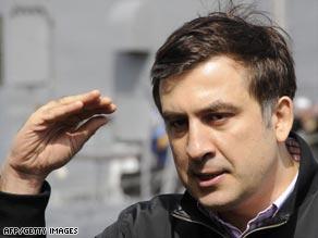 Georgian President Mikhail Saakashvili says he will remain in office till his term ends.
