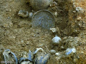 The dish unearthed after about 2,000 years.