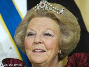 Queen Beatrix began her reign in 1980 after her mother abdicated the throne.