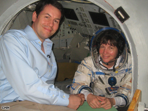 Matthew Chance undergoes cosmonaut training at Star City.