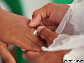 Statistics show an increasing number of couples live together before their wedding day, the church says.