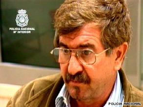 Juan Manuel Inciarte Gallardo is wanted for six killings in the 1980s.