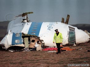 270 people were killed in the Lockerbie plane bombing in 1988.