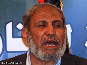 Senior Hamas official Mahmoud al-Zahar says rocket attacks on Israel will continue.