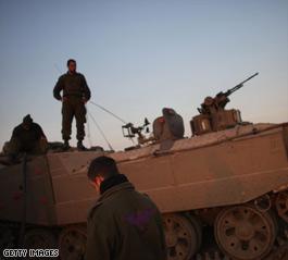 Clashes near Gaza City, witnesses say