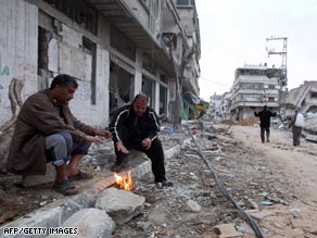 Palestinians in Gaza face a huge task to rebuild their lives after Israel's bombardment.