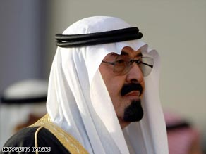 Saudi King Abdullah has appointed a woman to his council of ministers for the first time.
