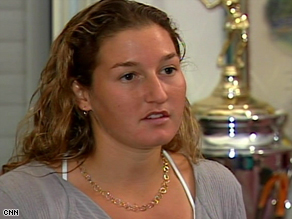 Shahar Peer told CNN she learned of her visa ban Saturday, just before her scheduled flight to Dubai.