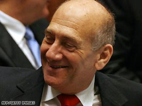 Olmert says the money he received was legal campaign funding.