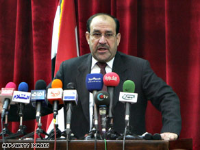 Prime Minister Nuri al-Maliki has urged sheikhs of the nation's tribes to join his government.