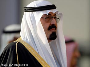 Saudi Arabia's King Abdullah will host the mini-summit.