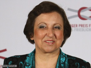 Shirin Ebadi, a civil rights leader in Iran, was awarded the Nobel Peace Prize in 2003.