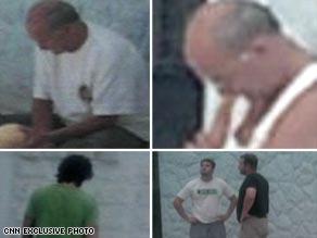 In a CNN exclusive, video shows U.S. contractors taken into custody by Iraqi authorities.