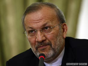 Iran's Foreign Minister Manouchehr Mottaki says the possibility of vote rigging is almost nonexistent.