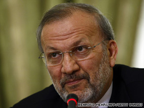 Iranian Foreign Minister Manouchehr Mottaki accused Britain of interfering in the country's recent vote.