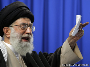Experts say Iran's supreme leader is trying to revive anti-British sentiment within the country.