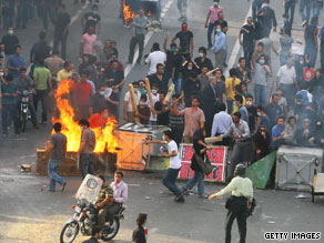 "Ayatollah Ahmed Khatami says rioters in Iran will be ""firmly"" dealt with if they continue to protest."