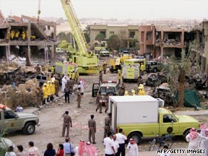 Al Qaeda launched attacks on government buildings, oil installations and international contractors in Saudi Arabia in 2003.