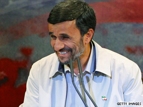 Iranian government said Ahmadinejad won two-thirds of the vote in the June 12 vote.