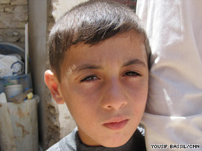 Khidir, now 8, was kidnapped and held hostage for two years by operatives with al Qaeda in Iraq.