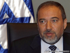 Israeli Foreign Minister Avigdor Lieberman objects to an op-ed piece in a Swedish newspaper.