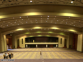 The Neighborhood Inaugural Ball will take place at the Washington Convention Center, pictured above.
