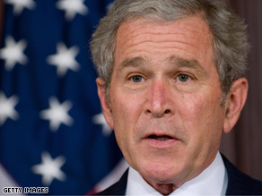 With two weeks left in office, Pres. Bush announced 45 appointments Tuesday.