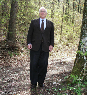 German billionaire Adolf Merckle in Germany on April 26, 2004.