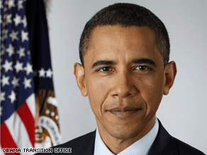 The Obama transition office has released the official presidential portrait.