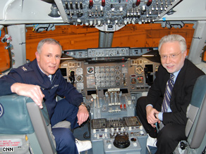 Blitzer: Tillman gave me a behind-the-scenes look at the famous aircraft.