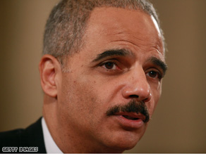 Eric Holder was asked about a recent Supreme Court gun rights case during his confirmation hearing Thursday.