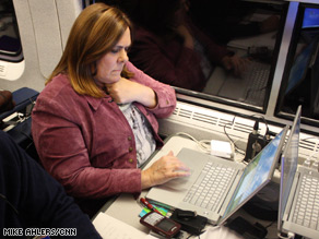 Candy Crowley is aboard the Obama Express.