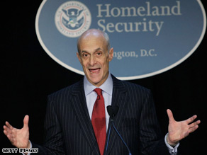 Chertoff believes this is the largest and most complex security event in history.
