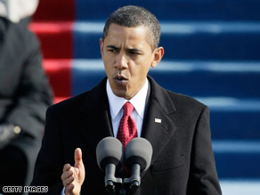 Barack Obama's cool and reassuring at a time of great anxiety.