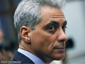 President Obama's Chief of Staff Rahm Emanuel issued a government-wide directive Tuesday.