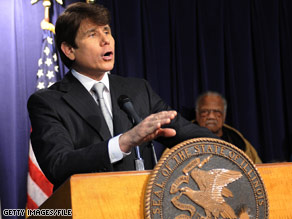 Illinois Gov. Rod Blagojevich says the lieutenant governor and fellow Illinois Democrats are plotting against him.